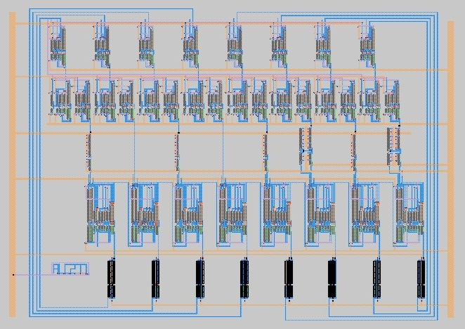 8-Bit Adder Low Power VLSI Max Design